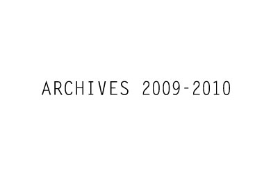 ARCHIVES 2009-2010