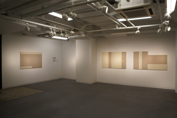 《Untitled(Oil Paintings for Kanazawa) 》  金沢美術工芸大学ギャラリー 2013年